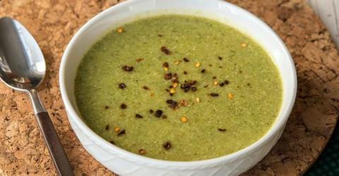 'Cream' of Broccoli Soup
