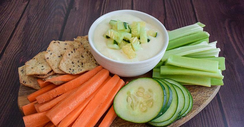 Creamy Cucumber Dip Recipe
