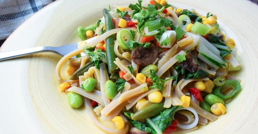 Baby Bok Choy & Vegetable Stir Fry Recipe