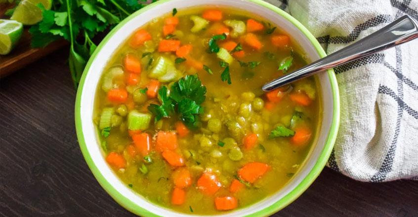 Pressure Cooker Split Pea Soup Recipe