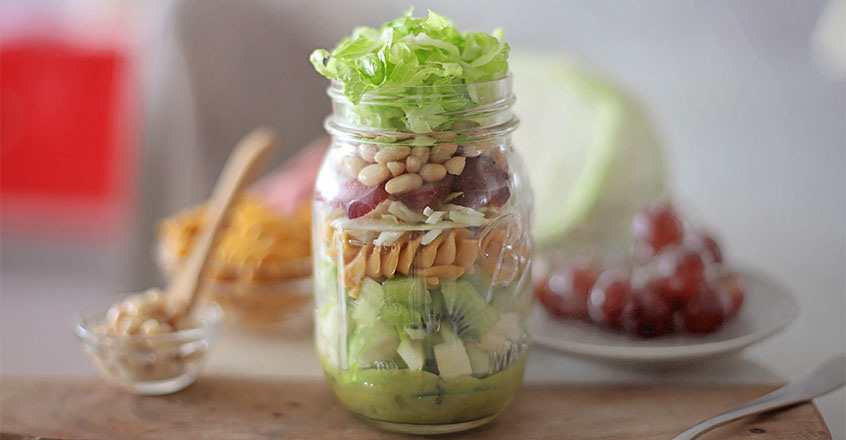 Layered Summer Salad recipe