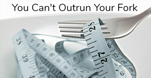 Healthy Weight Loss = 80% Nutrition + 20% Exercise