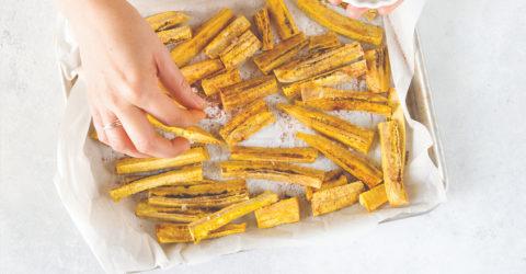 Plátanos Maduros – Sweet Baked Plantains