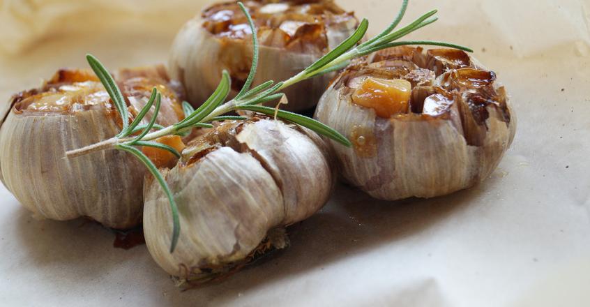 Tasty Roasted Garlic