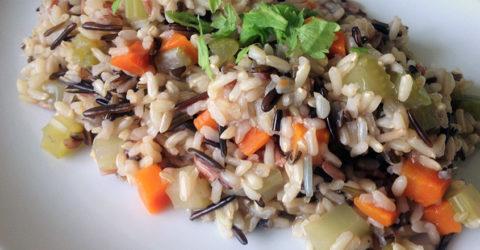Pilaf de arroz salvaje