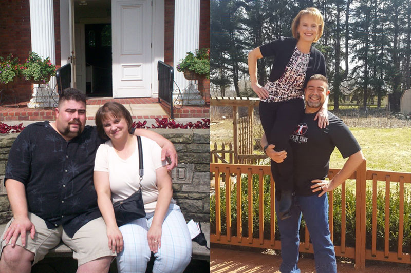 Ironman & ultrarunner Tim Kaufman before and after losing weight on a plant-based diet