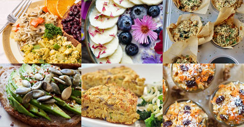 15 ideas de desayuno y brunch basados en plantas