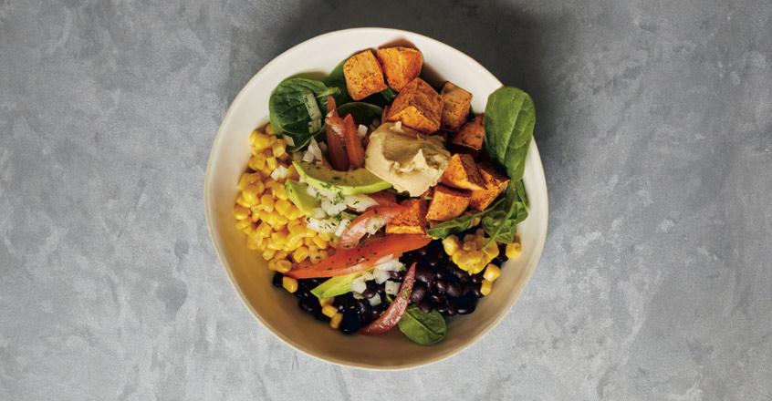 Sweet Potato and Black Bean Salad Bowl