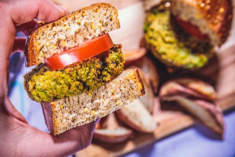 Cómo elaborar la mejor hamburguesa basada en plantas