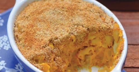 """Macarrones con """"queso"""" vegano mac-níficos"""
