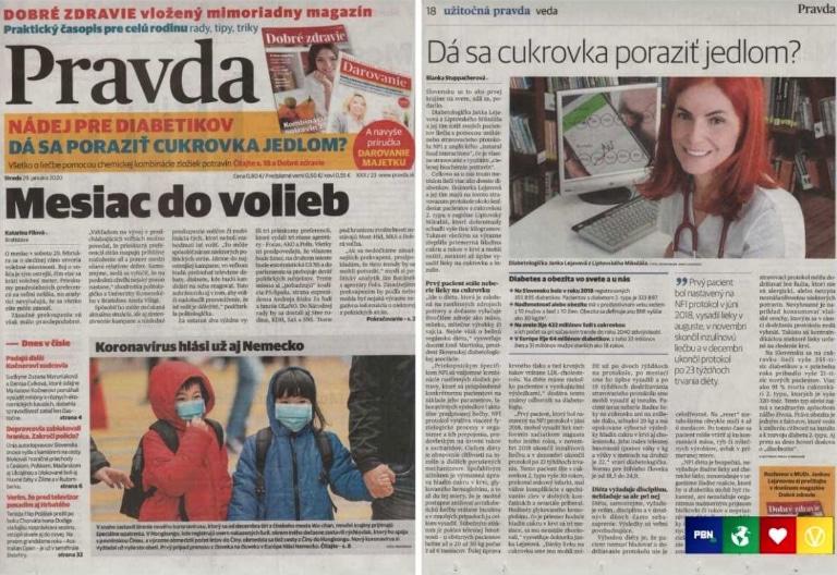 Pravda es el periódico más grande de Eslovaquia (Foto: PBN. No usar sin autorización).