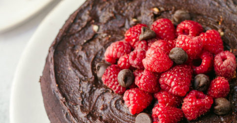 Unbelievably Plant-Based Double Chocolate Cake