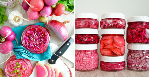 How to Make Quick-Pickled Vegetables