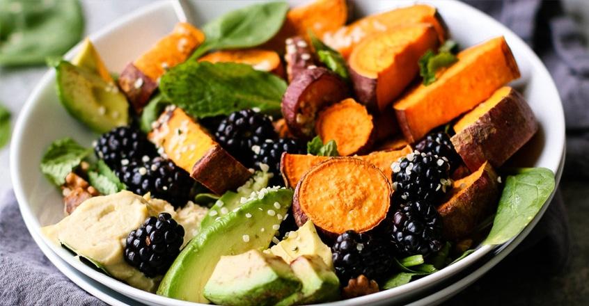 Sweet and Savory Breakfast Salad