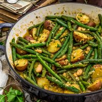 Country Ranch Green Beans and Potatoes