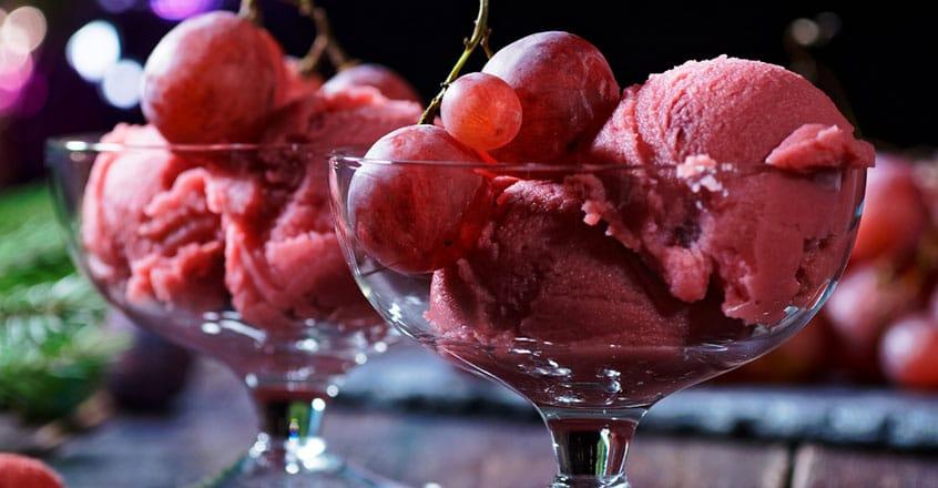 Grape Nice Cream