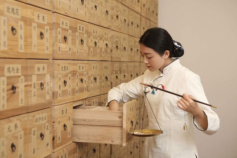 Traditional Chinese Pharmacist