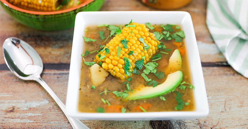 Colombian Ajiaco Potato Soup