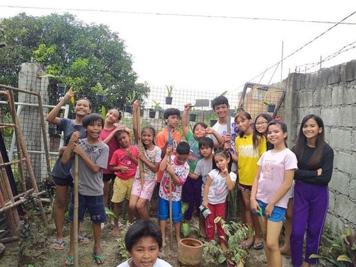 Growing Food Helps Children