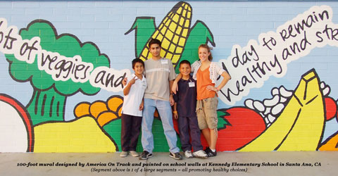 On Track Program Brings Plant-Based Nutrition Education to California