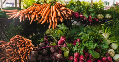 Chef Del's Secret Garden Gems: Garlic Scapes, Carrot Tops, & Beet Greens