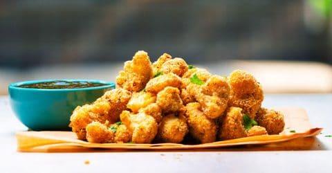 Bite-size Cauliflower Nuggets